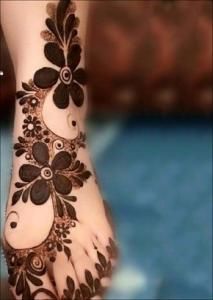 mehandi design images for legs