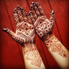 Beautiful Mehandi Looks - Moroccan Mehendi