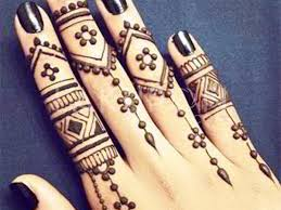 Arabic Beautiful Mehendi Look