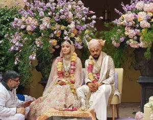 Virushka Wedding Candid
