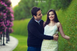 PreWed in Natural Background