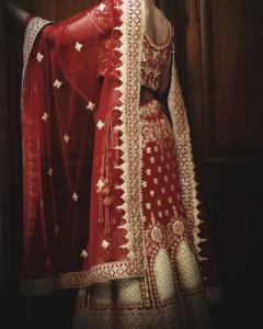 Bride saree